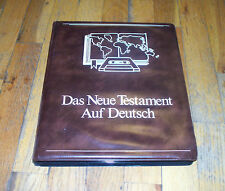 Das Neue Testament Auf Deutsch by Hosanna  [16 Audio Cassette Set]