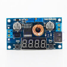 5A LED Drive Lithium battery charger with Voltmeter Ammeter DCDC module DH