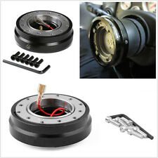 Professional Car Quick Release Adapter Steering Wheel Hub & Lock Formular Boss