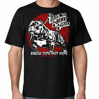 Breed Type Pit Bull tee American Bully Supply co Men's T shirt from sm thru 5x