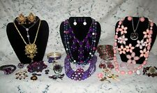 Vintage & Modern Pretty in Pink and Purple Jewelry Lot