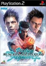 Used PS2 Virtua Fighter 4 Evolution SONY PLAYSTATION 2 JAPAN IMPORT