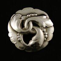 Georg Jensen Sterling Silver Brooch #20 - New