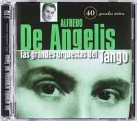 LAS GRANDES ORQUESTAS DEL TANGO ORQUESTA ALFREDO DE ANGELIS  - 2 CDS