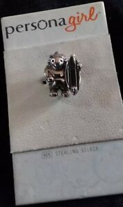 AUTHENTIC PERSONA GIRL CHARM SKATE SURF BEAD DANGLE LOT WY0132