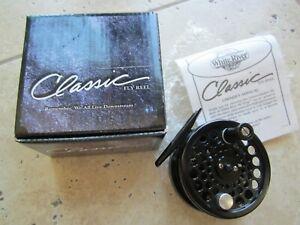 Whit River Classic Med  4/5 wt  Disk Drag fly reel