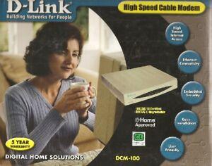 D-Link DCM-100 Cable Modem
