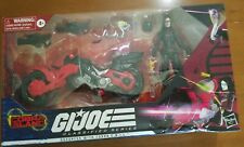 GI Joe Classified Series Baroness with Cobra COIL Target Exclusive box damage