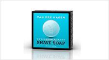 Van Der Hagen Unscented Luxury Shave Soap 3.5oz Hypo-Allergenic Shea Mango Cocoa
