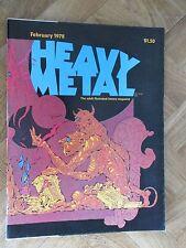 HEAVY METAL THE ILLUSTRATED FANTASY MAGAZINE FEBRUARY 1978 FINE/VERY FINE (E13)