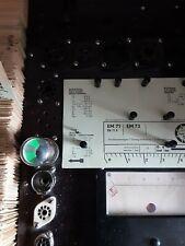 1X Magisches Auge EM71 LORENZ gebr./sehr gute Leuchtkraft -neuwertig