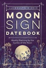 2018 Moon Sign Datebook Calendar Planner Moon Cycles Wiccan Pagan Book