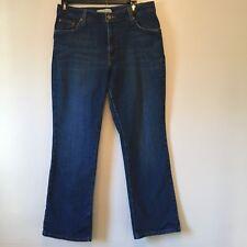 Levis 550 Jeans Womens Size 12 Short  Blue Denim Relaxed Boot Cut  EUC