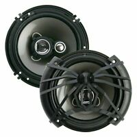 """New Pair Soundstream AF.653 300 Watts 6.5"""" 3-Way Coaxial Car Audio Speakers"""
