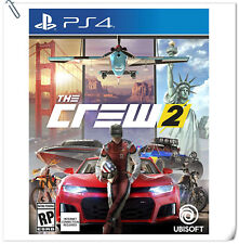 PS4 The Crew 2 Sony PlayStation Ubisoft Racing Games
