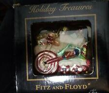 "Fitz And Floyd -Very Rare! ""Holiday Treasures"" Locomotive - 2003: Brand New"