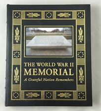 2004 Easton Press Leather The World War II Memorial A Grateful Nation Remembers