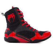 Venum Elite Hommes Fitness Entrainement Mma Boxe Baskets Noir/Rouge - UK 10.5