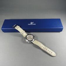 Swarovski - Uhr / Armbanduhr / Watch - Pearl Barbados - Lederarmband
