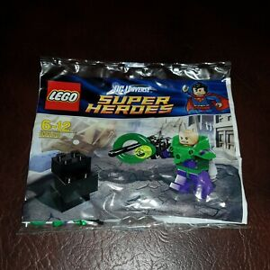 BRAND NEW LEGO SUPER HEROES 30164 LEX LUTHOR MINIFIGURE POLYBAG