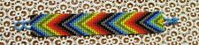 "NEW~Southwestern Hand Woven Glass Seed Bead Bracelet 1"" Wide ~ NEW ~ Item #T2010"
