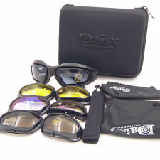 Daisy C5 army SunGlasses 4 Lenses Googles Outdoor Hunting UV Sports Glasses