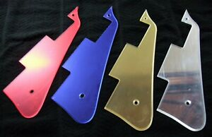 Les Paul Mirror finish Pickguard - Scratchplate Choice of Gold Silver Blue Red