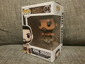Khal Drogo #04 Funko Pop Game Of Thrones Television Vinyl Figure Boxed Rare