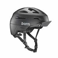 Bern Union Helmet Matte Black Medium 55cm-59cm Used Free Postage