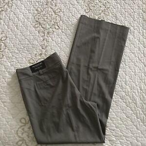 Ann Taylor Women's Signature Fit Pants Size 12 Trouser Leg NWT