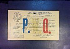 Spanish West Indies Marina De Guerra Stampless P.W.Q. Card - Z1008