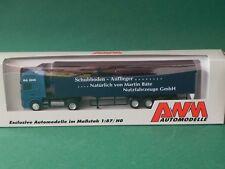 Scania 144L Sattelzug Schubboden- Auflieger IAA 2000 Herpa AWM 1:87 H0 Nr. 51283