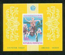 Indonesië Zonnebloem  Blok 29 postfris (ongetand)  motief bloemen
