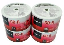 200 SONY Blank CD-R CDR 48X Logo Branded 700MB 80min Media Disc PRIORITY MAIL