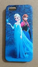 Frozen Princess Elsa and Anna Full Print Back Case For iPhone 4 4S 5 5S 5C