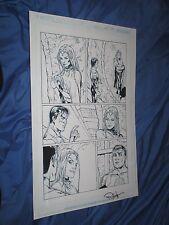 GREEN LANTERN #32 Original Art Page #17 ~Billy Tan/Rob Hunter JLA/MOVIE Justice Comic Art