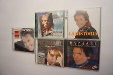 Lot of 5 Raphael - Maravilloso CD+DVD 2 Discs *RARE + 4 more total of 7 discs