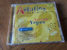 Narciso Yepes Asturias The Art Of The Guitar CD Deutsche Grammophon 459 613-2