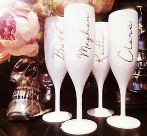 Personalised Champagne Prosecco Flute Glass