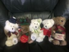 Lot Of 5 Boyds Bears Head Bean Collection-Thinkin' Of Ya Series With Tags