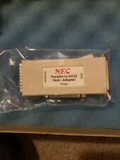 New Nos Nec Cd-Connection Parallel To Scsi Adapter Cd-Parscsi
