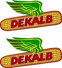 "2 DEKALB Decals 6""  FREE SHIPPING"