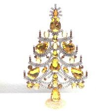 -20% - Czech handmade Rhinestones Christmas tree decoration