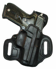 High Noon Holsters, Slide Guard, OWB Black leather right hand fits CZ-USA 75B