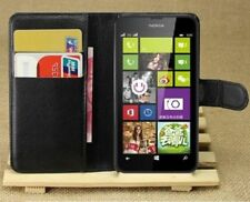 imyth PU Leather Flip Wallet Stand Book Case Cover Pouch For Nokia Lumia 630