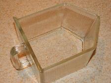ANCIEN vintage TIROIR ENCASTRABLE verre de buffet meuble GLAS Schublade FRANCE