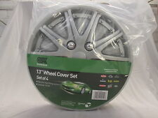 "Brand New Autocare 13"" Lacquered High Gloss 10 spoke Wheel Trims - Set of 4"