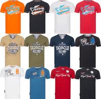Geographical Norway T-Shirt Herren Shirt Hemd Sommer Baumwolle  S-3XL Print kurz
