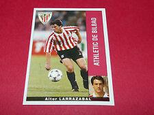 AITOR LARRAZABAL ATHLETIC BILBAO PANINI LIGA 95-96 ESPANA 1995-1996 FOOTBALL