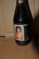 Vintage Nude Beer Bottle -Brown Glass 12 oz-  VERY RARE !!!